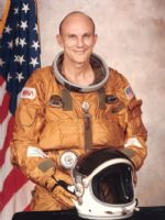 NASA Astronaut Thomas 'Ken' Mattingly Full Colour Portrait - Shuttle Era